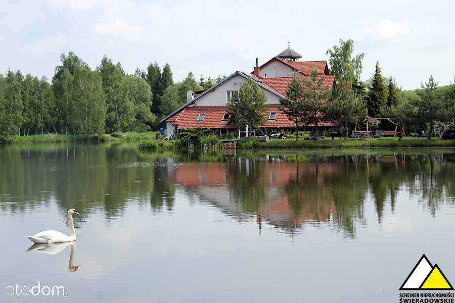 Pensjonat z łowiskiem w Gryfowie Śląskim