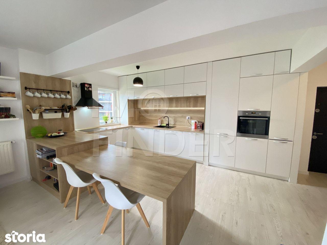 Apartament 3 camere 78 mp str Buna Ziua