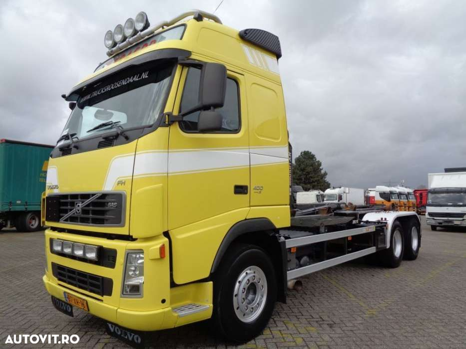 Volvo FH 400 + Euro 5 + 10 tyres + Hook system - 12