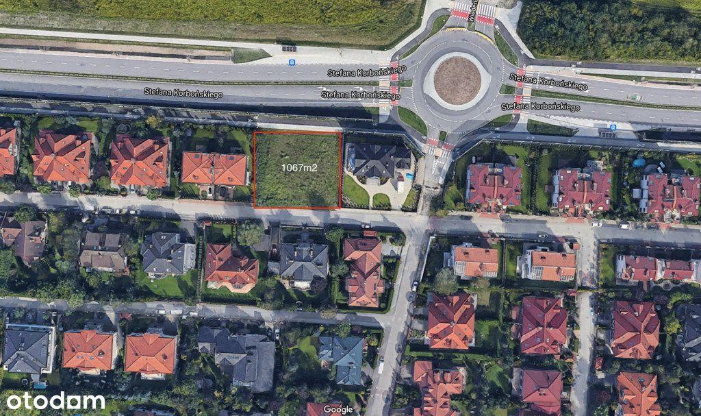 Działka, 1 067 m², Warszawa