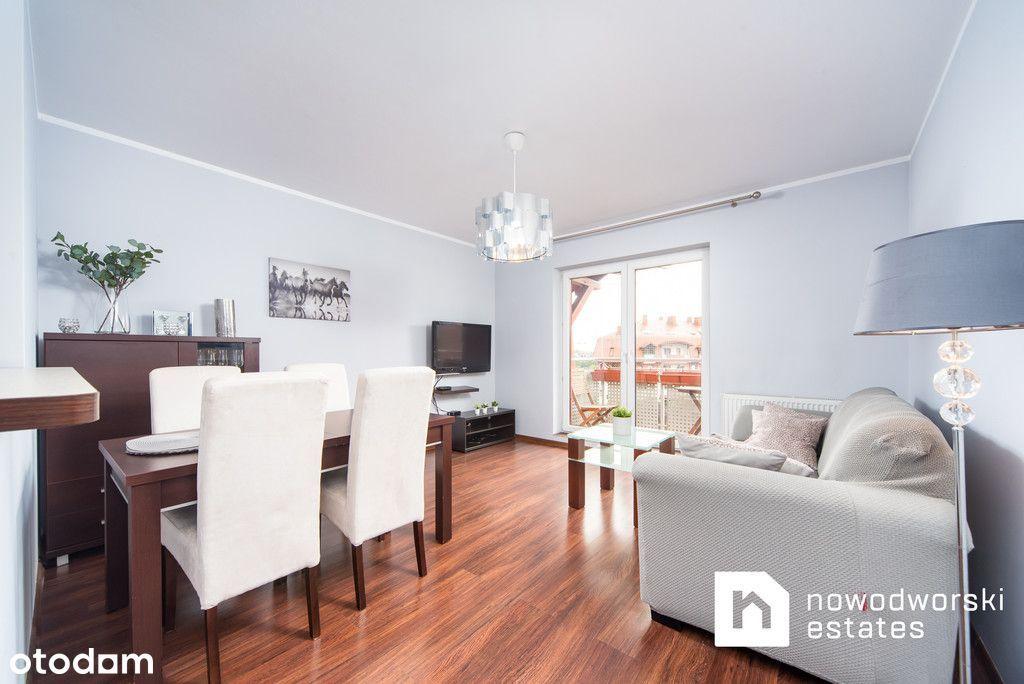 Dwupoziomowe duże mieszkanie/Konna/Wysoka