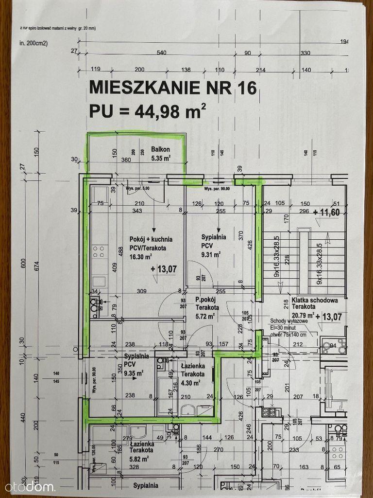 Nowe mieszkanie w stanie deweloperskim, 10.2021