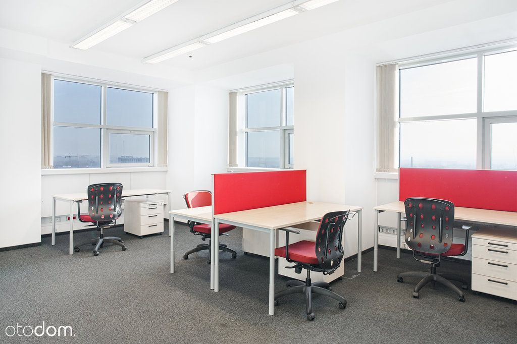 Biuro w ścisłym centrum z panoramą na miasto