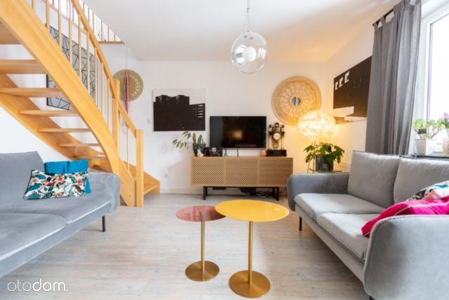 Dwupoziomowe mieszkanie w centrum 99,6 m2