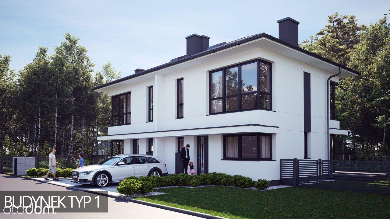DOM 11J/B B ŁOMIANKI WIŚLANA 88,58 m2 działka 400m