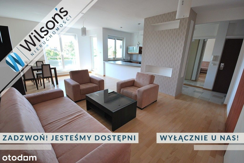 Apartament, Metro Wilanowska, dwa balkony!