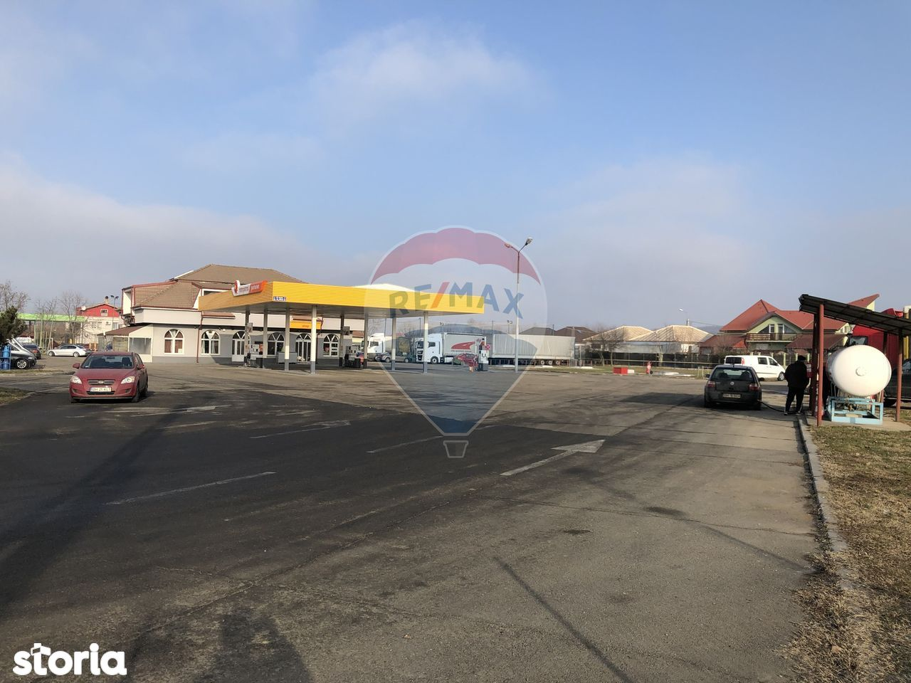 Benzinaria Trans Oil/Partener Rompetrol, Soseaua E71, Oradea