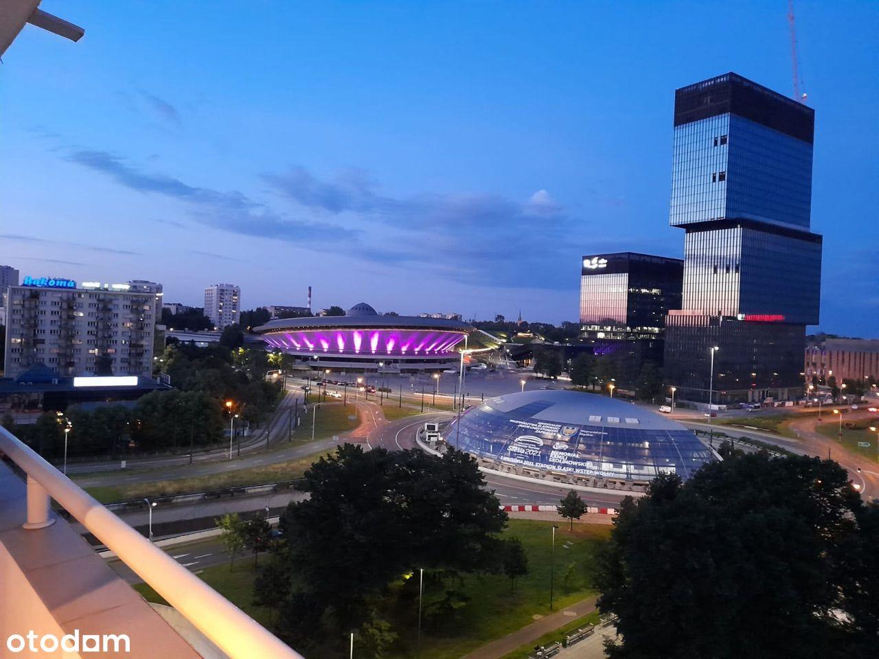 Wynajm dwupokojowe mieszkanie Katowice Korfantego