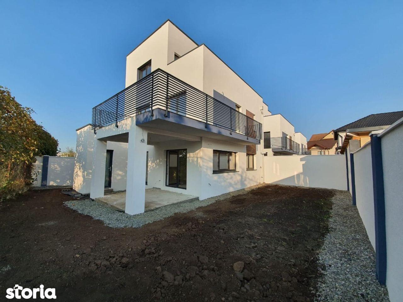 Casa cu design modern in Selimbar.Proprietar