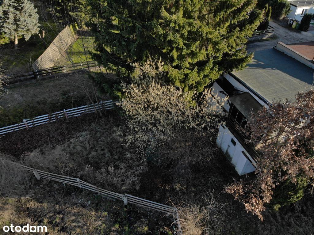 Działka gruntowa zabudowana - pow. 0,312 ha