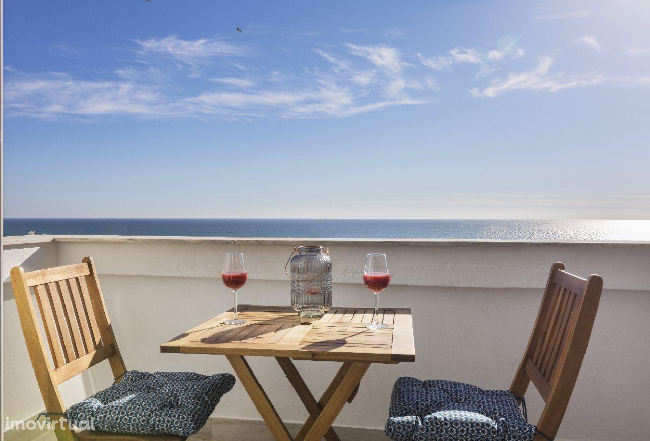 Apartamento com vista mar em Quarteira