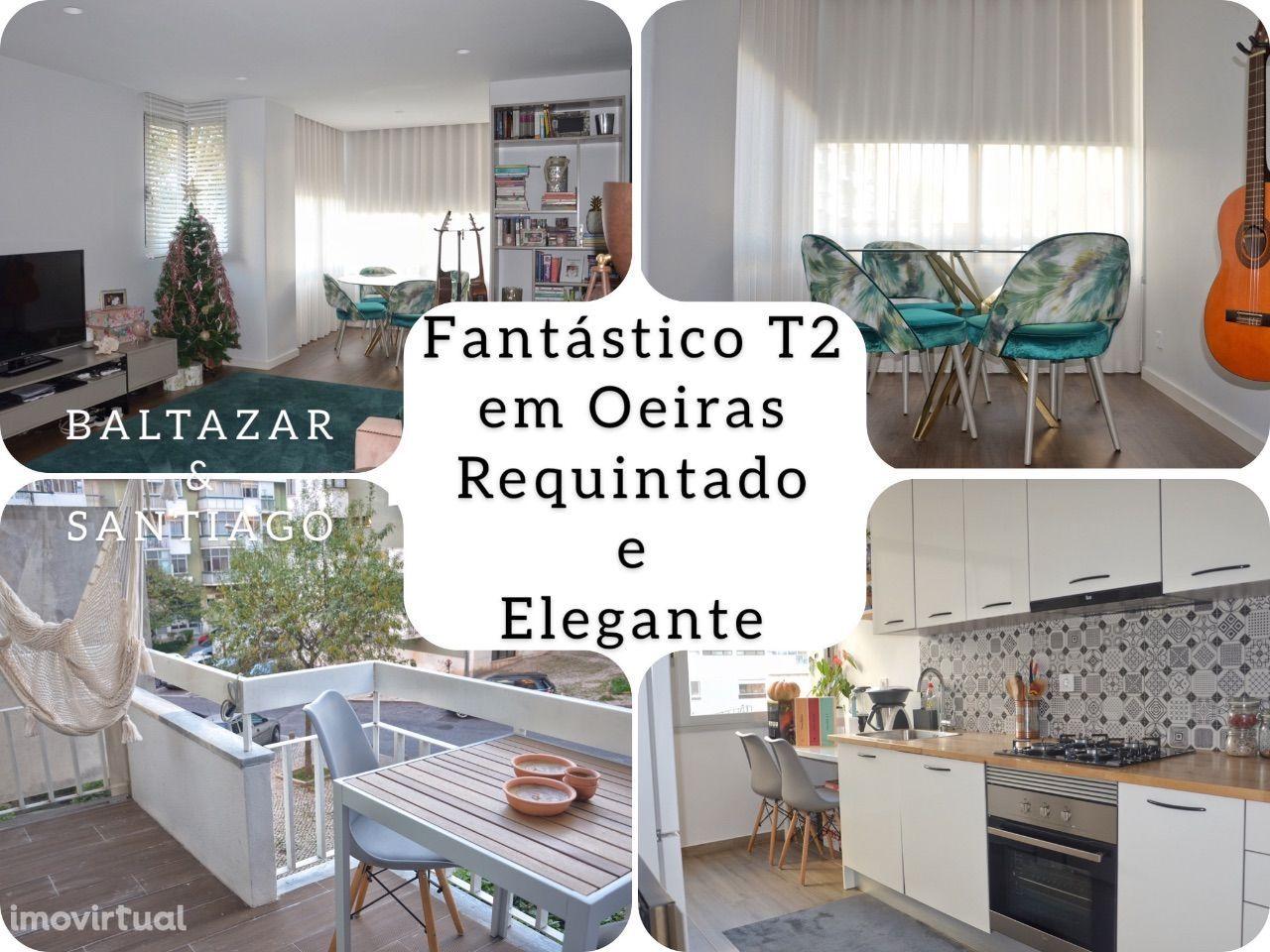 Fantástico T2 em Oeiras, Requintado e Elegante