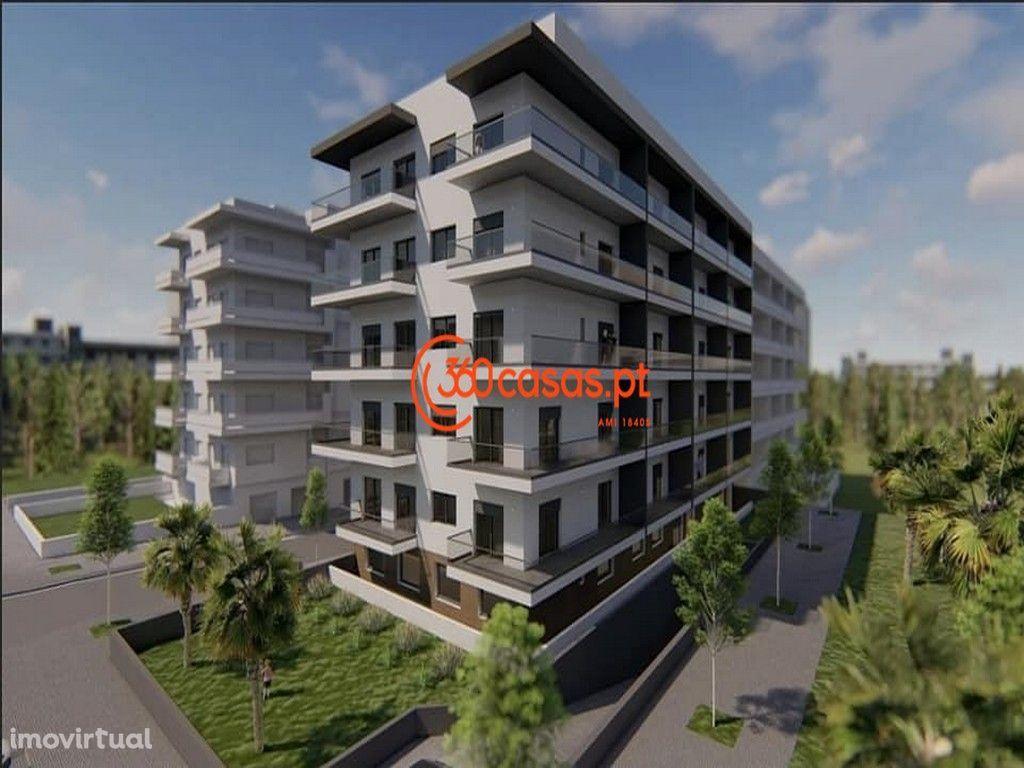 Apartamento T3 novo com garagem e arrecadação em Faro