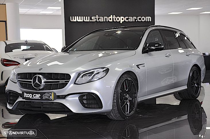 Mercedes-Benz E 63 AMG S 4-Matic+