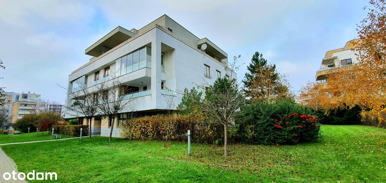 Apartament z ogrodem, Marina Mokotów, bezpośrednio