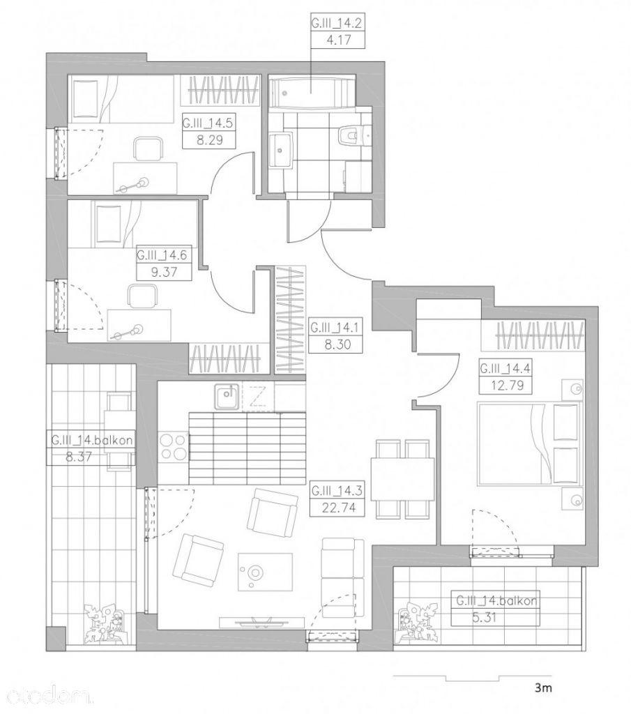 Idealne mieszkanie dla rodziny !