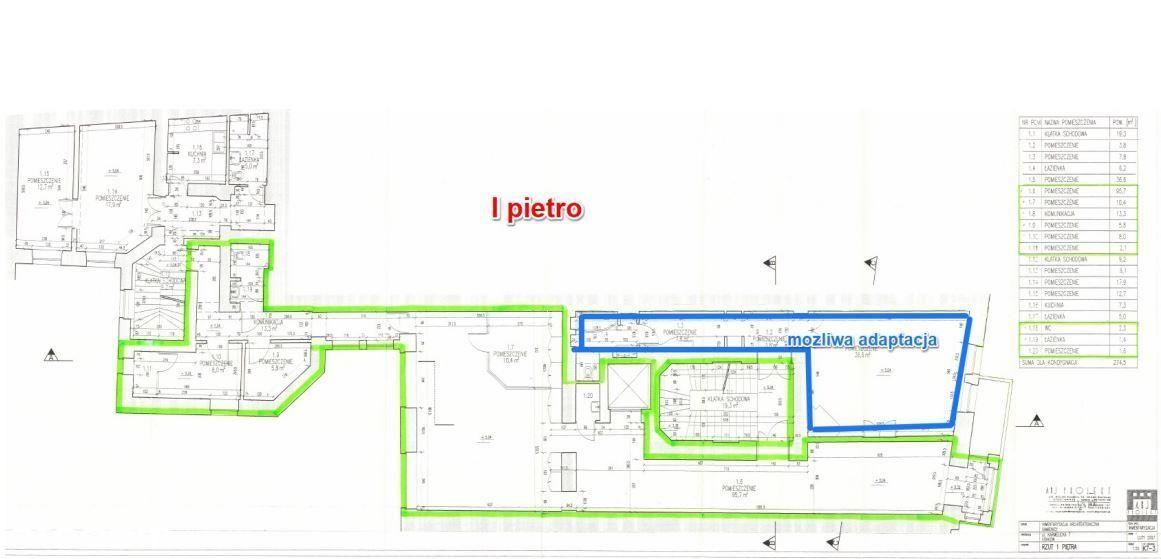 Śródmieście, Karmelicka, 141 m2 - lokal biurowy