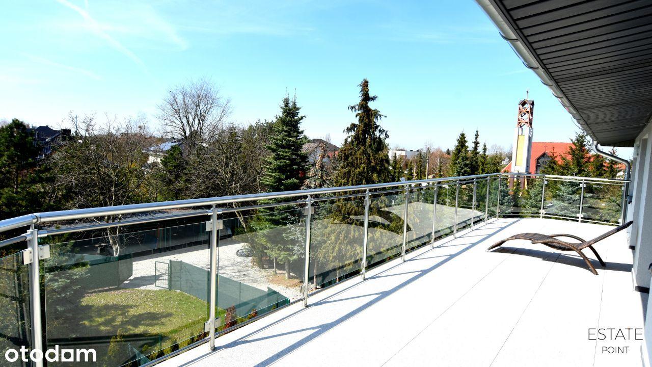 2 poziomowe mieszkanie z przestronnymi tarasami
