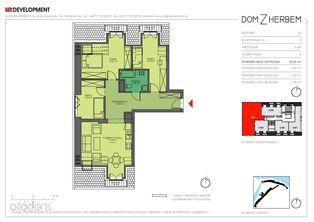 Nowe czteropokojowe mieszkanie 70m i2 5.M4