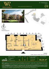 Wikana Residence - Mieszkanie nr B1.09