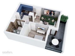 Wygodne mieszkanie z dużym balkonem!