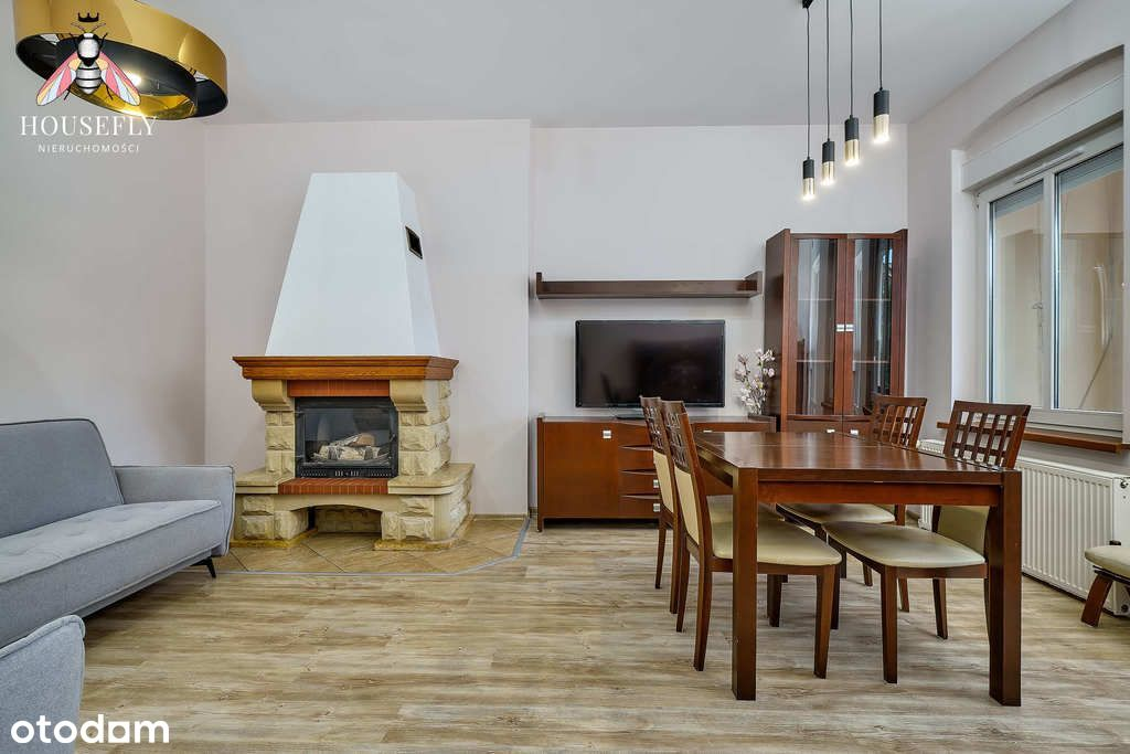 75 m2 of Luxury, 3 Rooms, Fireplace, Balcony