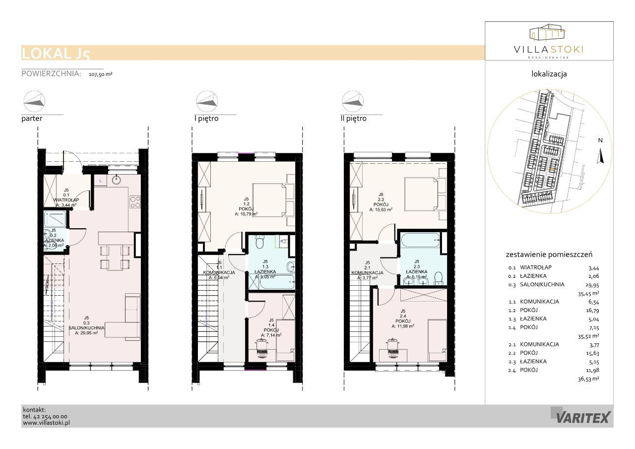 Dom typu 112 - Villa Stoki (dom J.05)