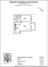 Mieszkanie na sprzedaż o pow. 50,11m2