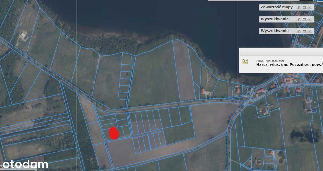działka budowlana Mazury jezioro plaża inwestycja