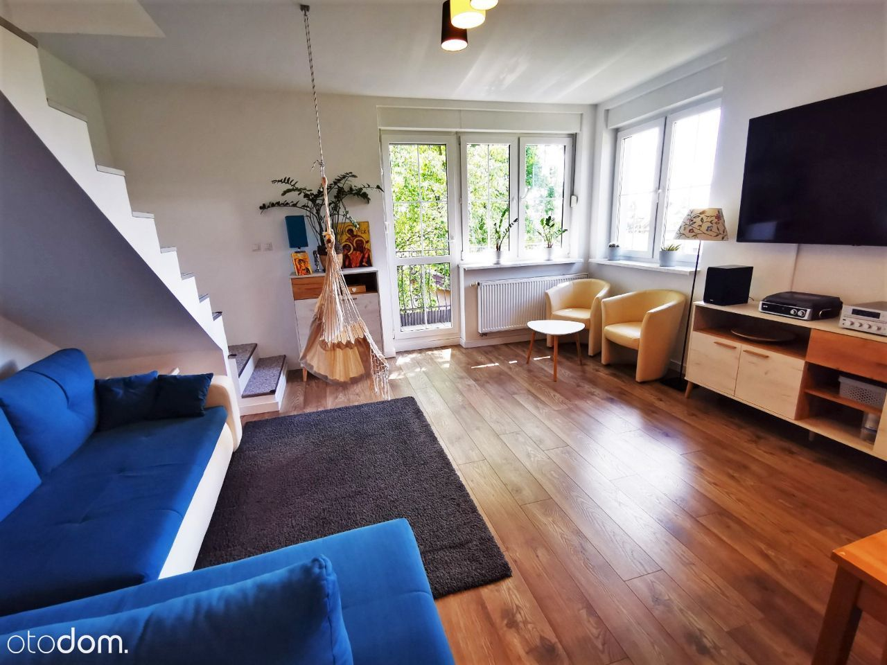 Mieszkanie dwupoziomowe 95 m2 cicho PKP