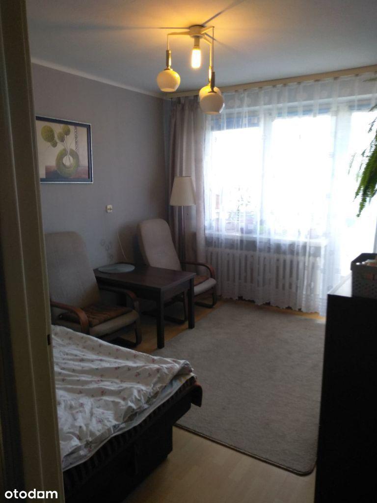 36m2, 2 pokoje z kuchnią, łazienką i balkonem