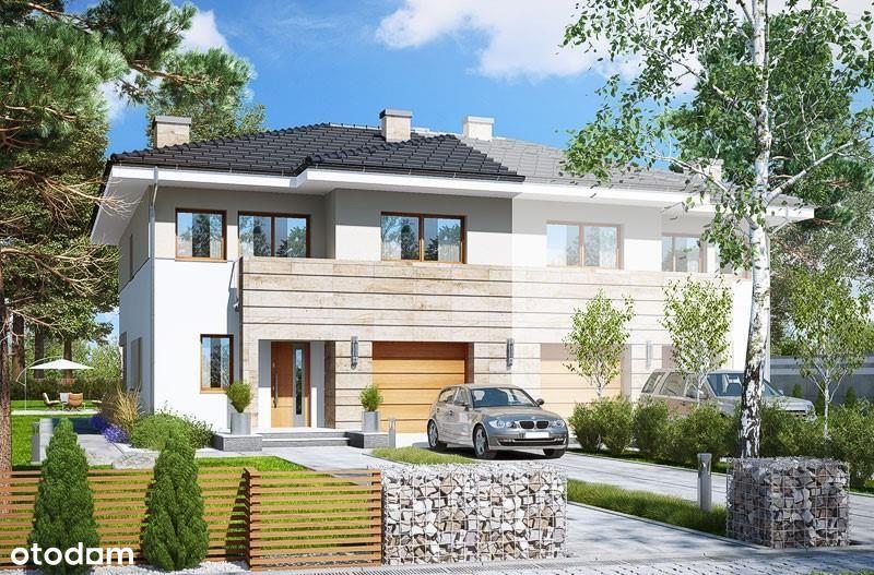 Dom ok.151m2,Nowoczesna bryła,Piękna kolica