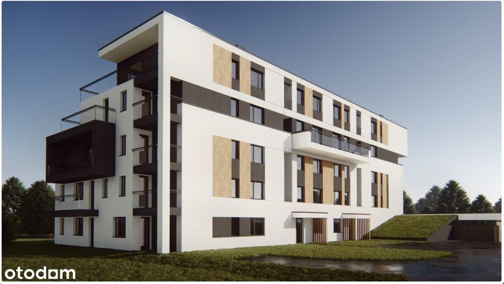 Duży balkon, fajny układ, 3 pokoje,ciekawy projekt
