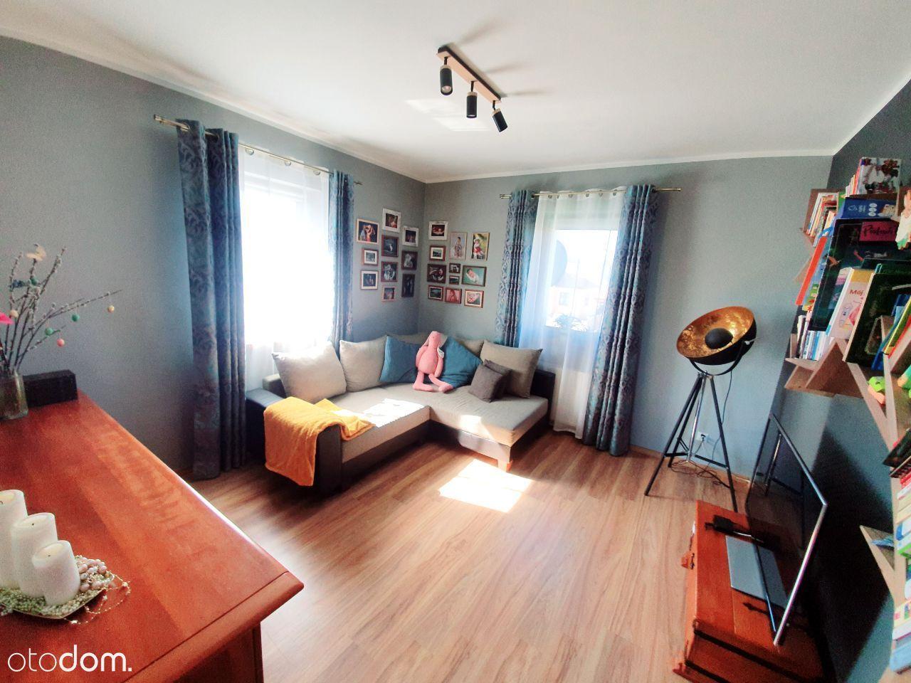 Dwupokojowe mieszkanie (50m²) z działką