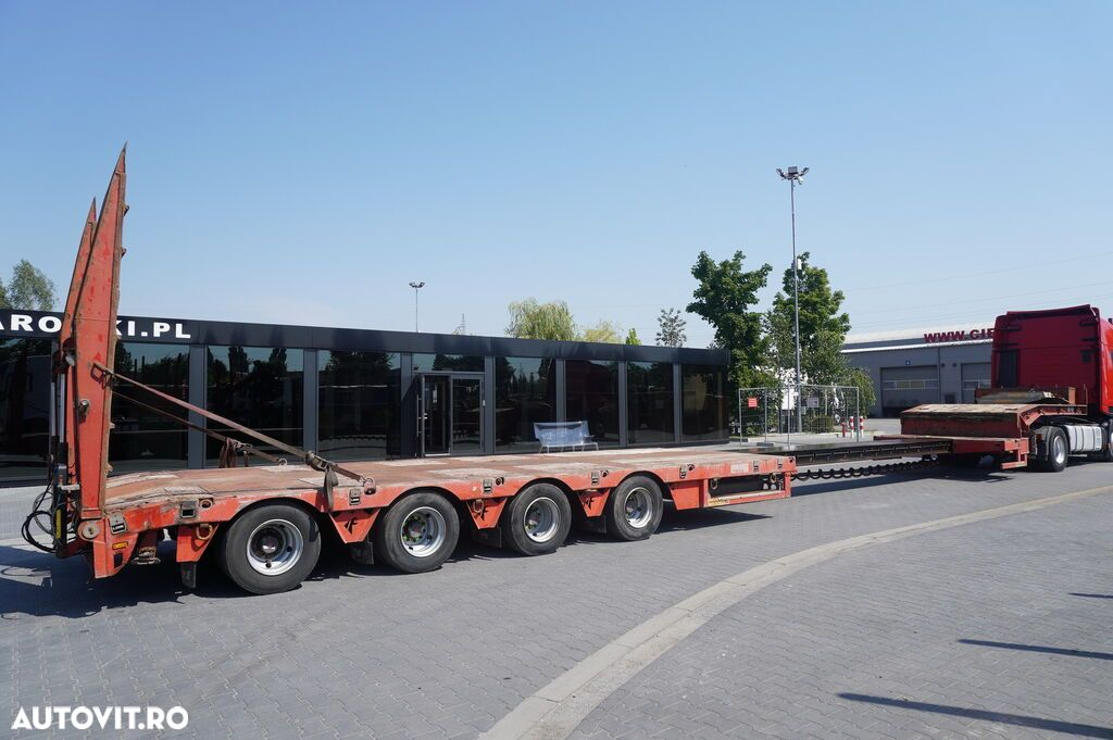 Faymonville STN-4AU , 4 axles , extended , stretched , max 15,80 x 3,23m , h - 2