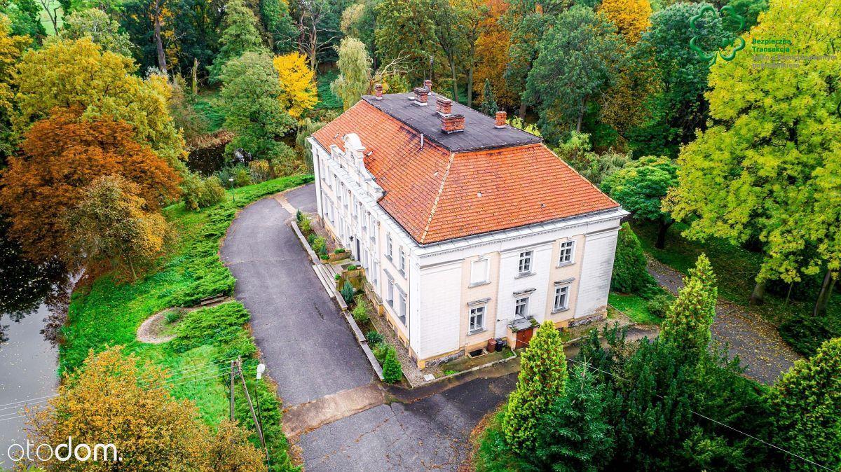 Gostyń/ok.pałac XVIIIw, park, stawy, unikatowe mie