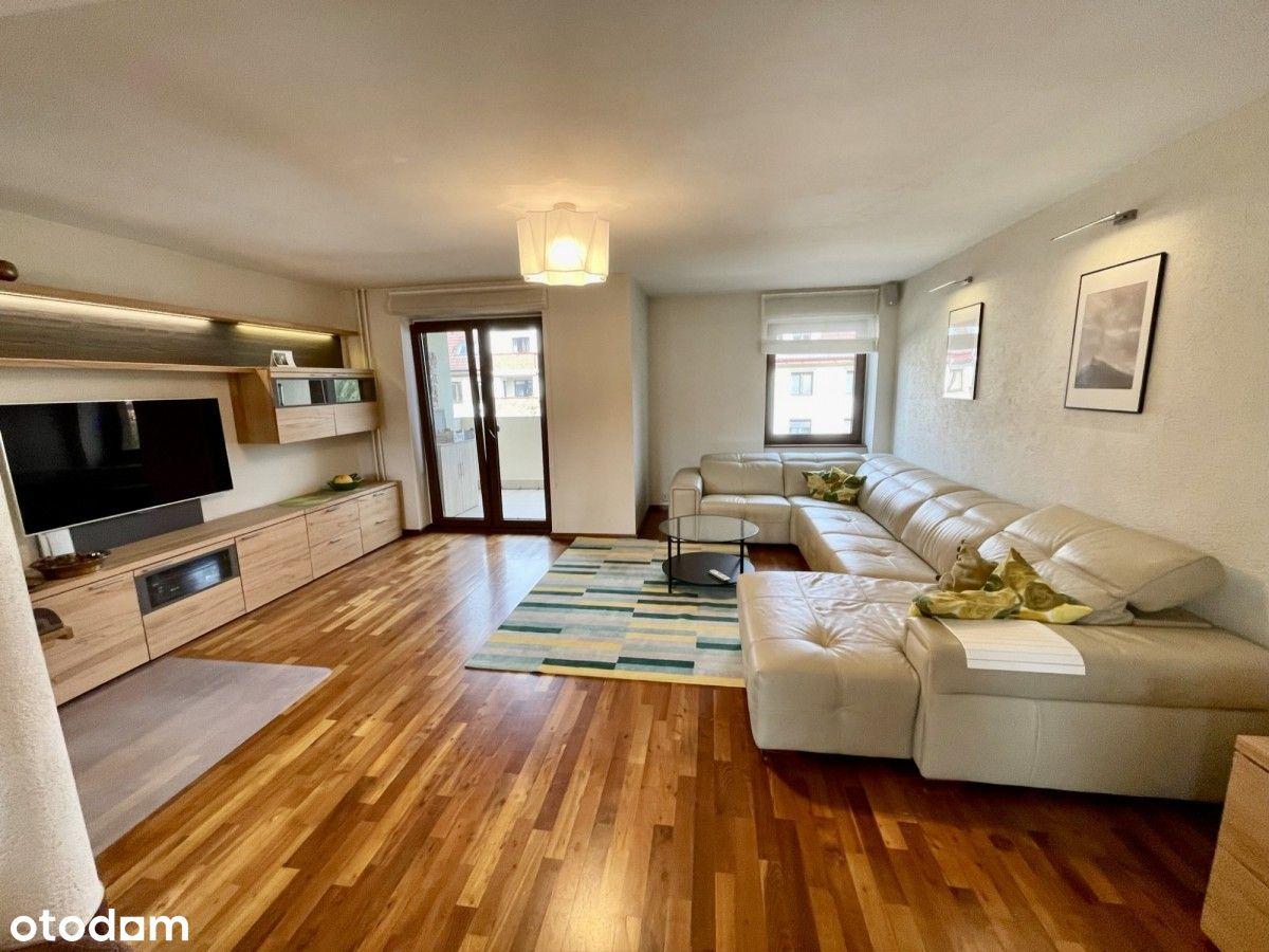 Komfortowe, dwupoziomowe mieszkanie, 4 balkony