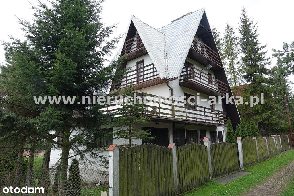 Dom na widokowej działce w Szczawie
