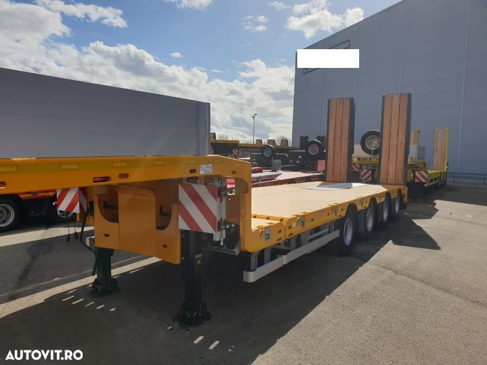 Goldhofer TRAILER 4 axe, externsibil STN-4L - 1