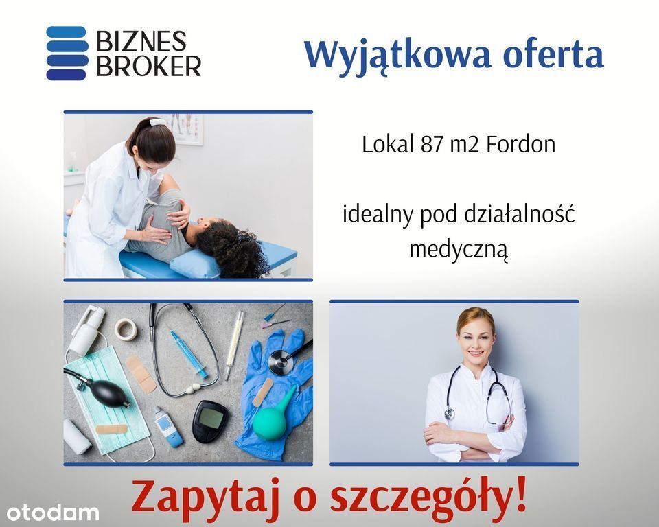 Lokal Pod Działalność Medyczną Lub Biurową 87 M2