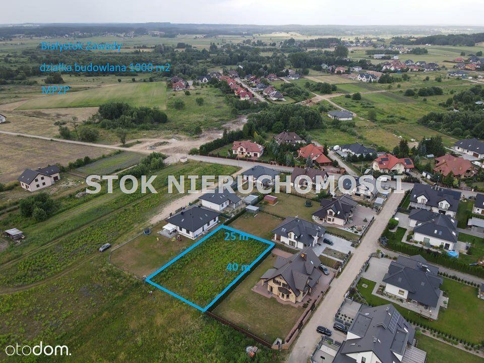 Działka, 1 000 m², Białystok
