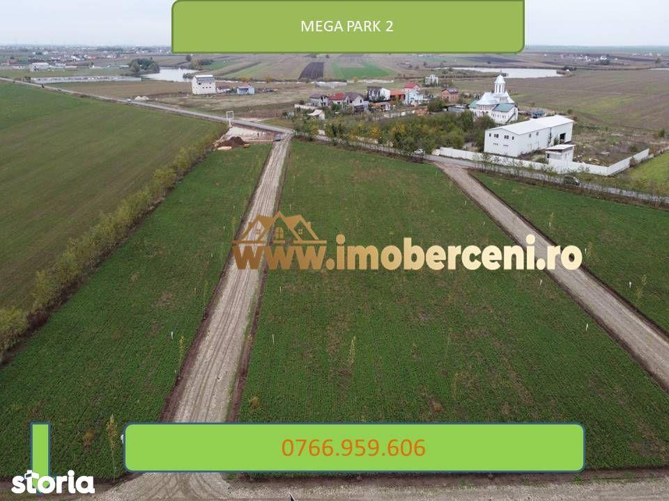 Teren cartier rezidential Mega Parc -utilitati lot - comuna Berceni