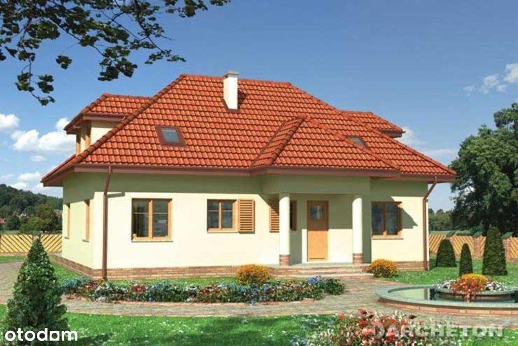 Rozpoczęta budowa domu - Łagów