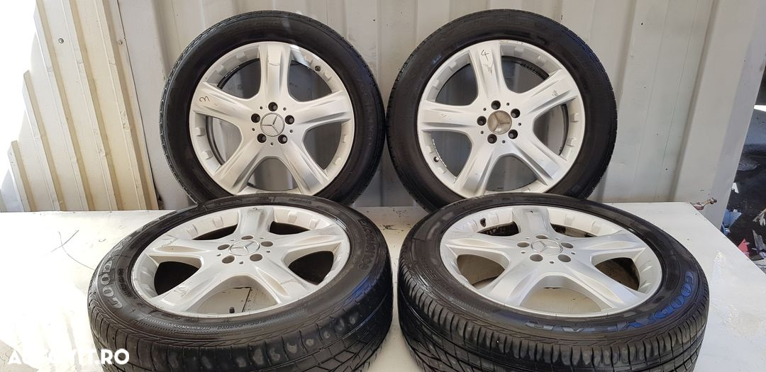 Janta aliaj set 5x112 ,r19 ,vara ,uzate  Mercedes-Benz ML / M-CLASS  - fabricatie:  2005 > ML 320 C - 3