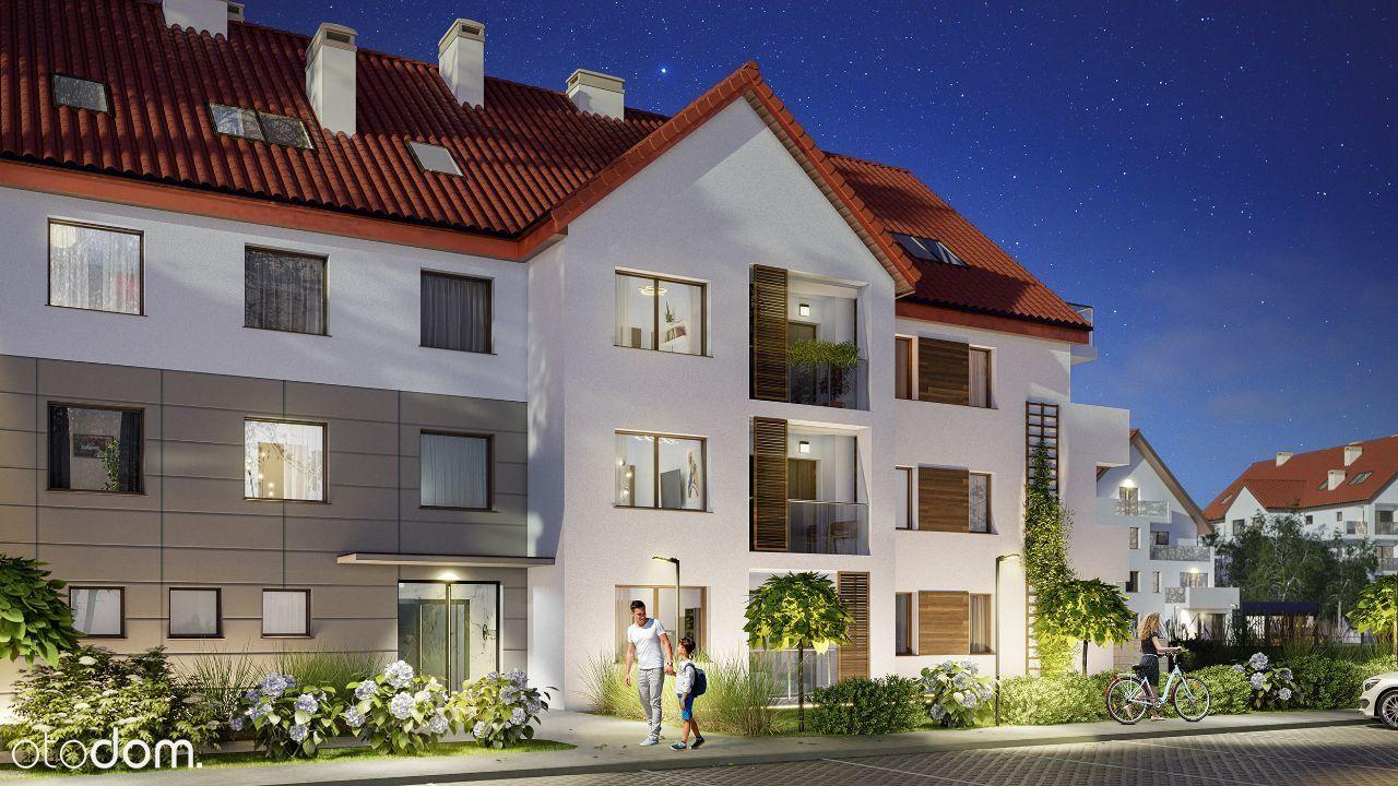3 pokoje Osielsko z tarasem i ogródkiem 58 m2