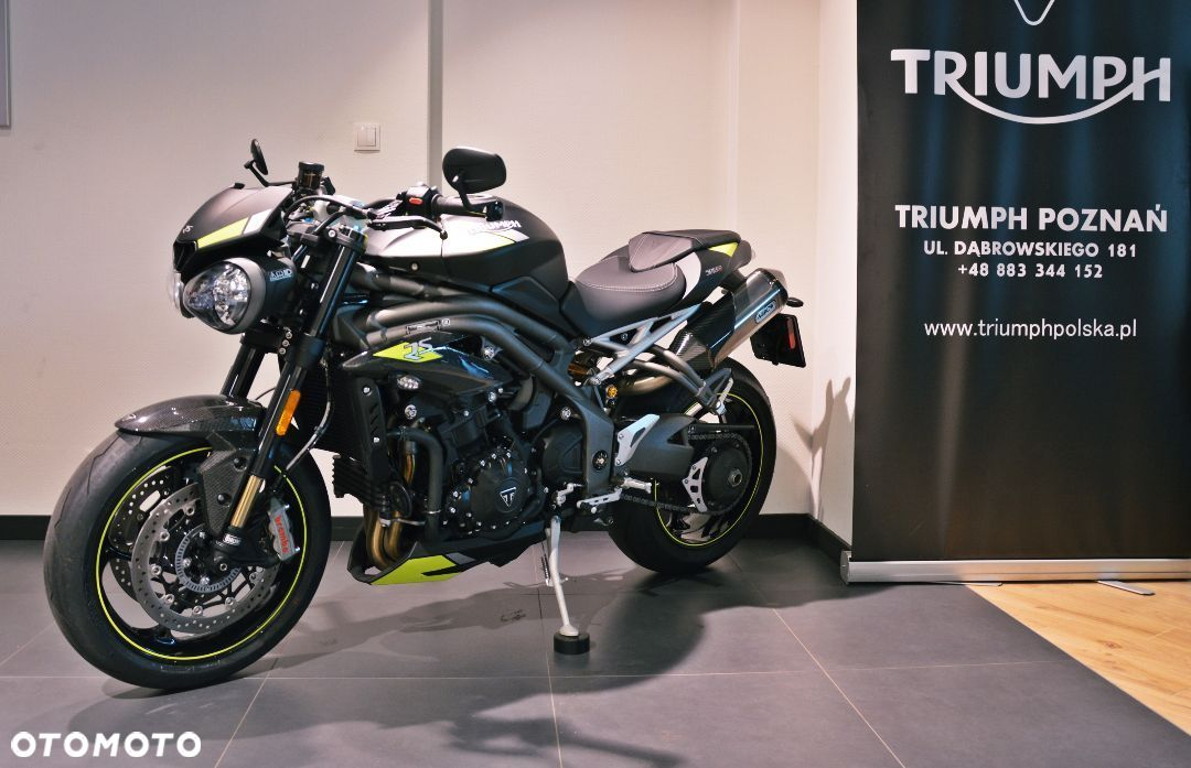 Triumph Speed Triple RS!Matt Black! salon Polska Triumph Poznań! - 10