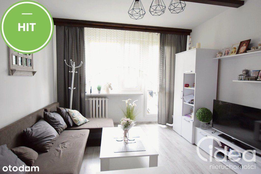 Idealne 3 pokojowe mieszkanie z balkonem