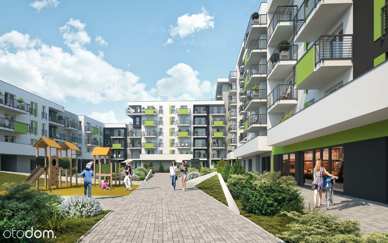 3 pokoje z balkonem-rowerownia- Park na Zdrowiu