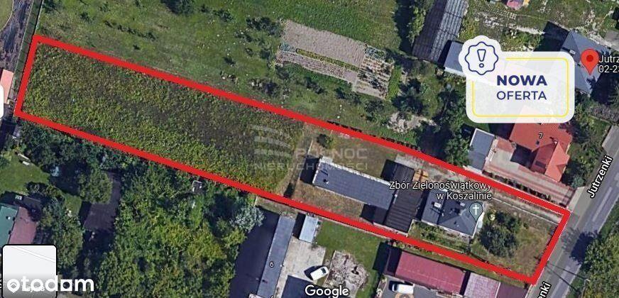 Działka 3200 m2 Jutrzenki / Włochy / Okęcie