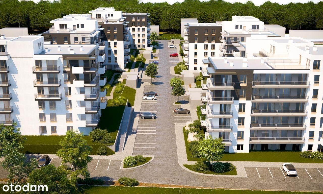 Mieszkanie, 54,02 m², Mława